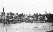 High Water on the Crow River, 1894