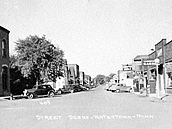 1948—Lewis Avenue at Madison Street looking North